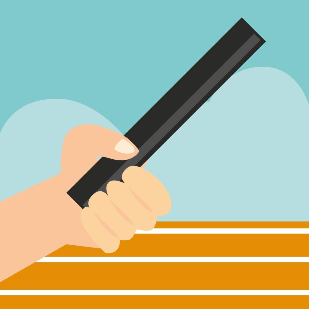 an illustration of a baton