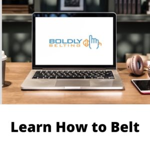 boldly belting singing course