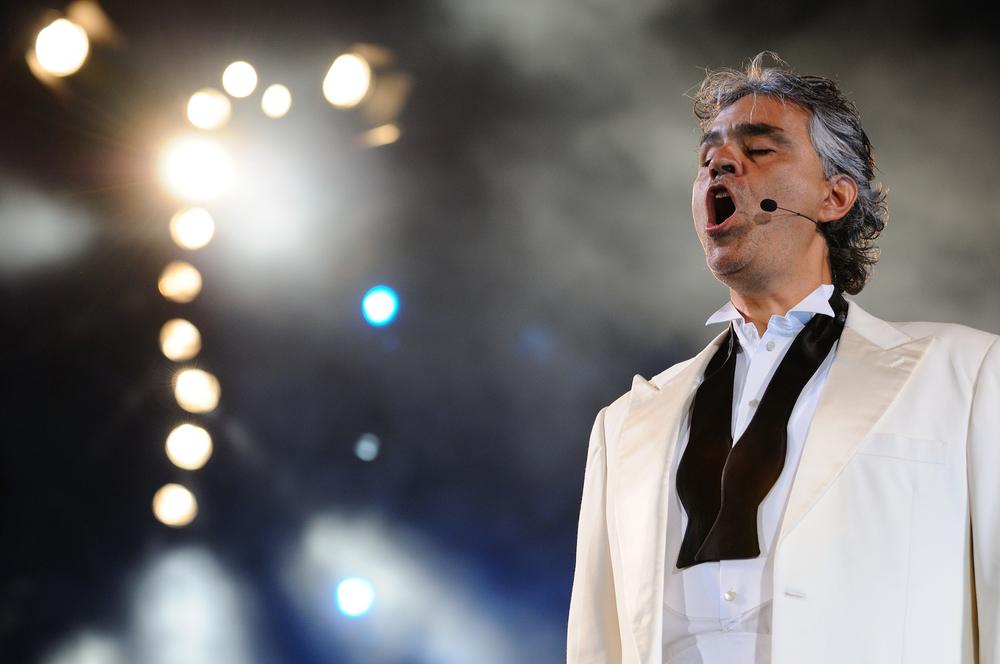 Tenor, Andrea Bocelli