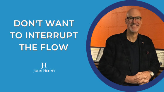 don't want to interrupt the flow video tips featured image