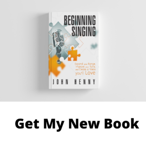 New book beginning singing