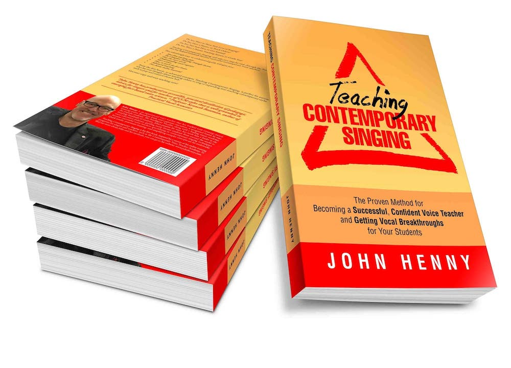 the book teaching contemporary singing by john henny