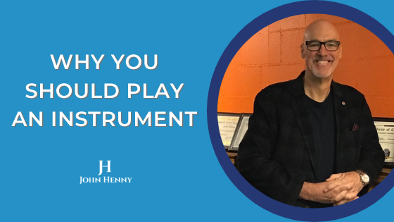 why you should play an instrument video tips featured image